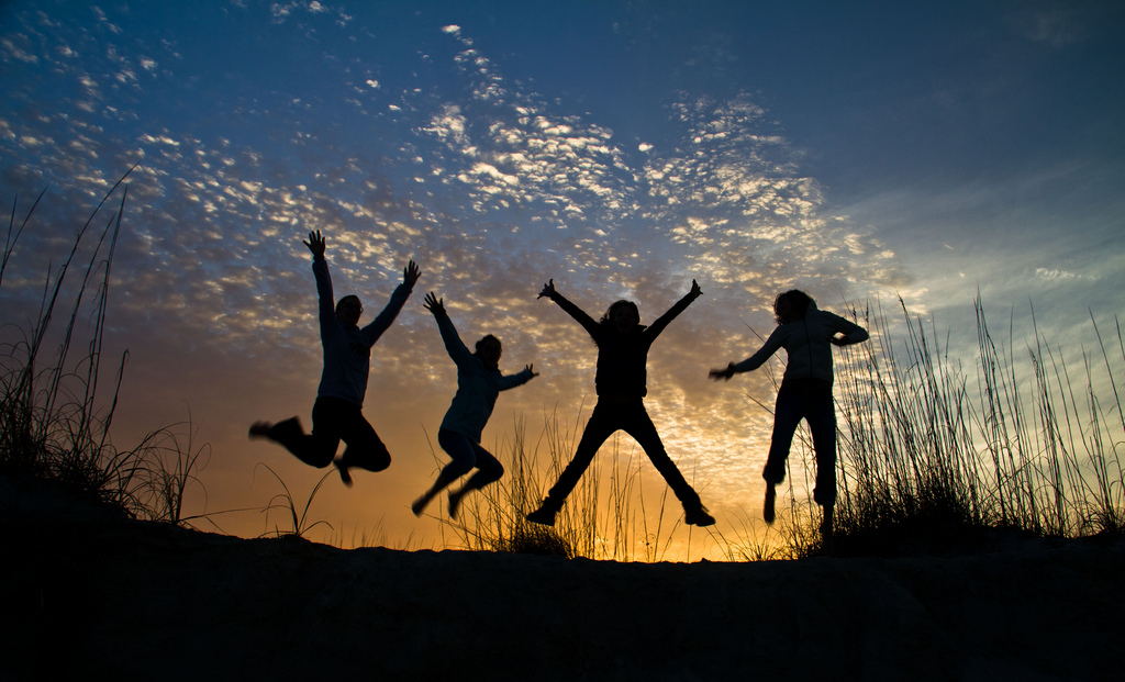 Jumping Silhouettes